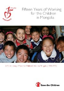 Fifteen Years of Working for the Children in Mongolia
